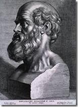 """Hippocrate """"Le Père de la médecine"""" - source Wikipédia"""